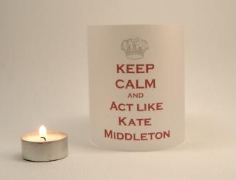 Lyrical Light - Keep calm and act like Kate Middleton