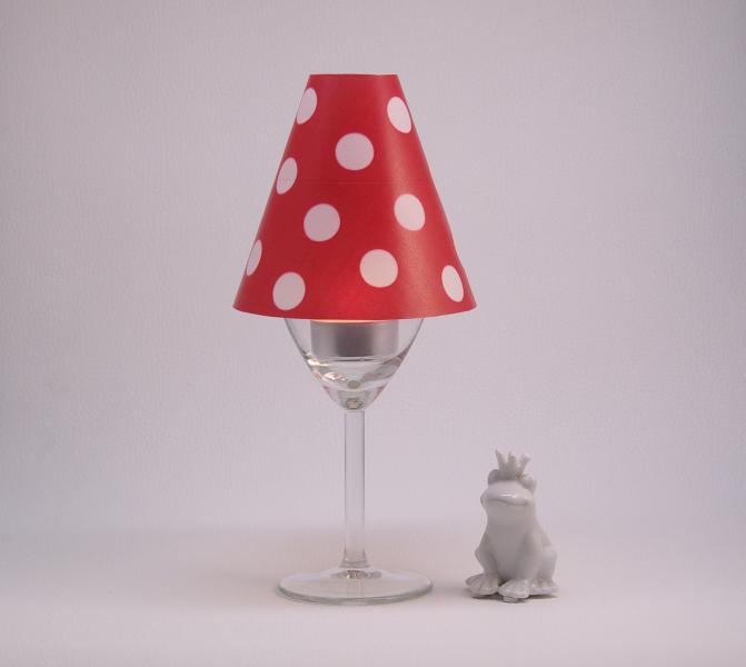 lyrical lampshade lampenschirm glas fliegenpilz nan s welt. Black Bedroom Furniture Sets. Home Design Ideas
