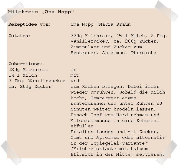 Rezept Milchreis