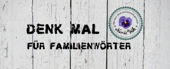 Denkmal für Familienwörter