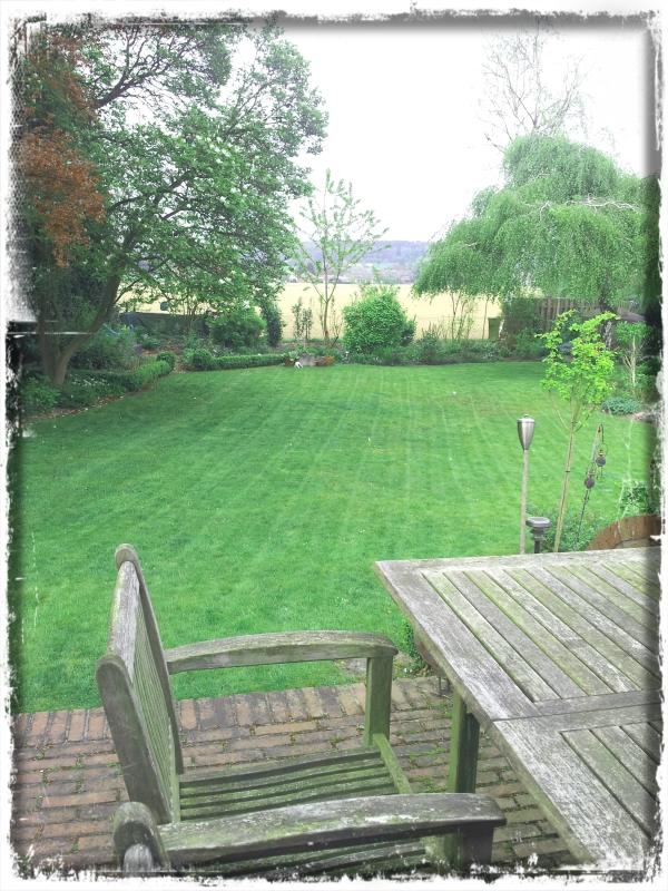 Rasen fertig