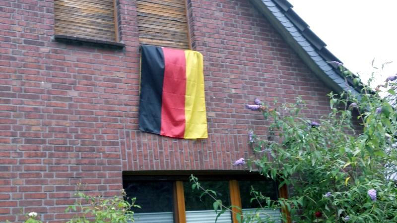 Flagge gehisst!
