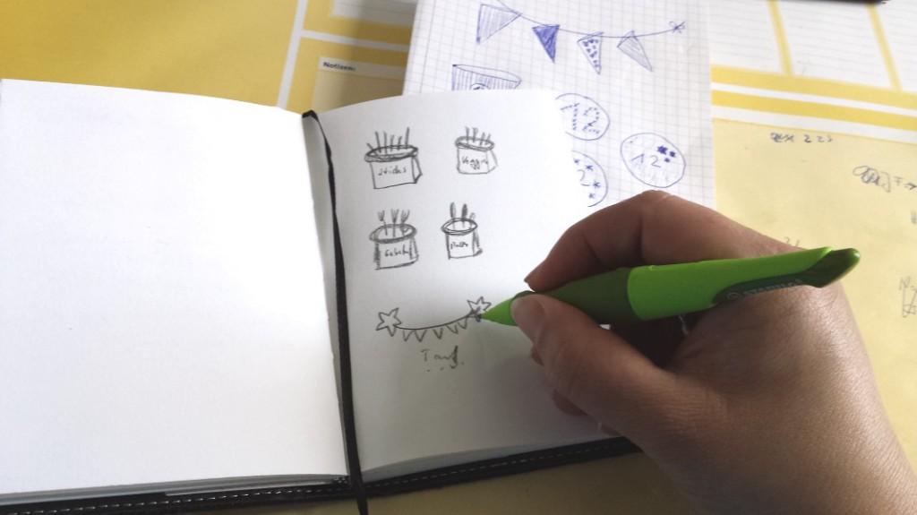 Ideen notieren