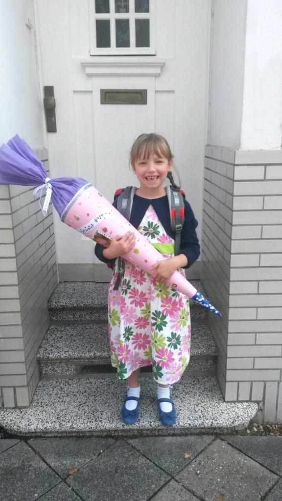 Schulkind Lina