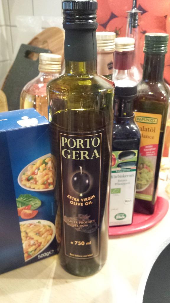 Feines Olivenöl