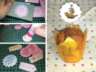 Making of Cupcake Toppers