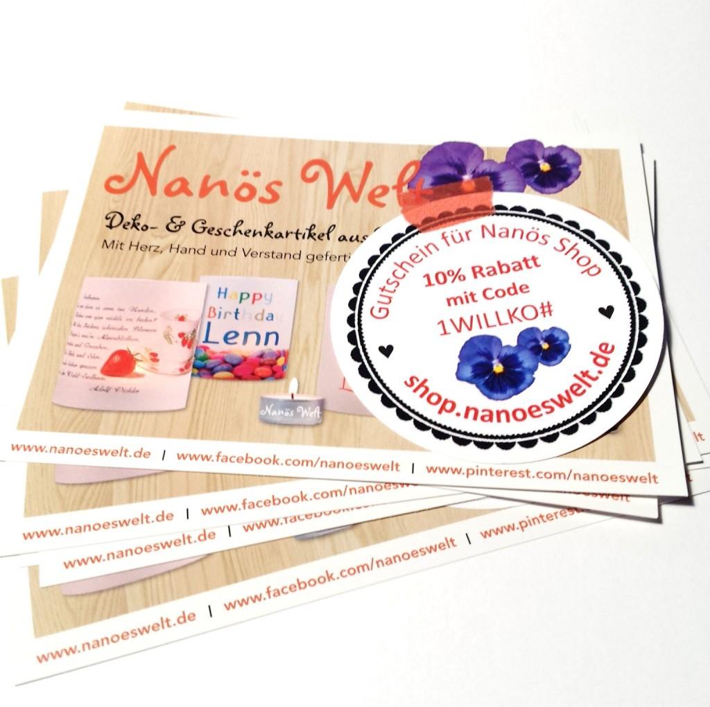 Gutscheine Nanös Shop