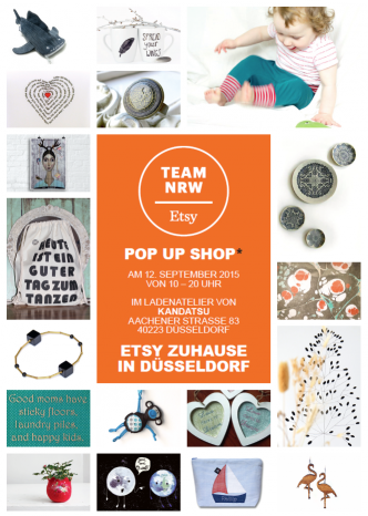 Pop Up Shop des Etsy-Teams NRW