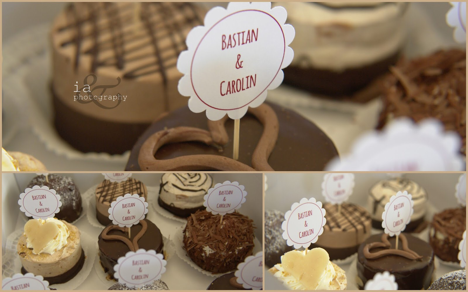 Collage Cupcake-Topper