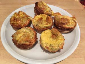 Vegetarische Rührei-Muffins