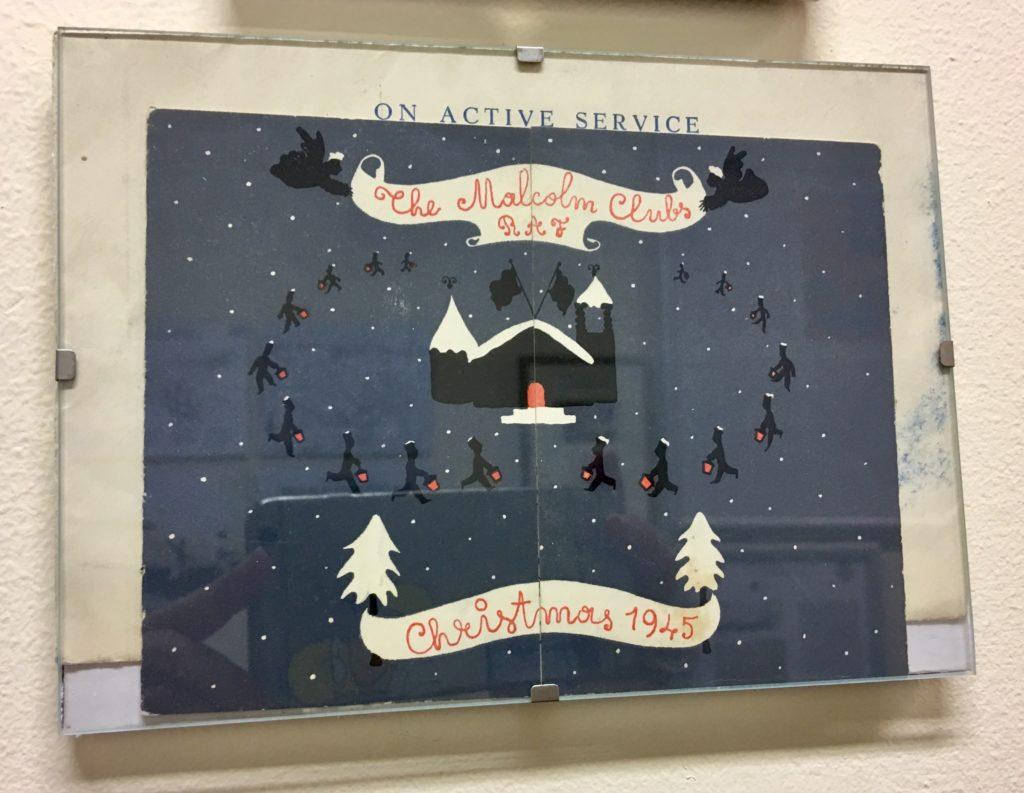 Weihnachtskarte Royal Airforce