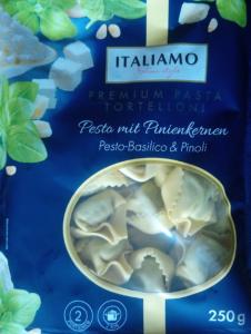 Tortellini Pesto mit Pinienkernen