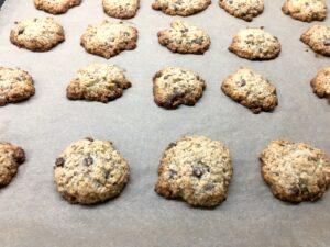 Gebackene Hafercookies